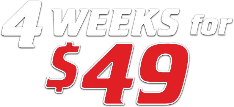 4 Weeks for $49