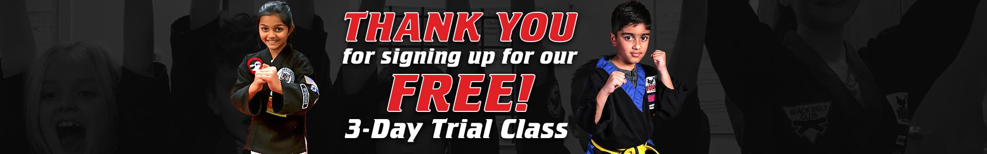 3 Day Free Trail Karate Class At Everson's Karate